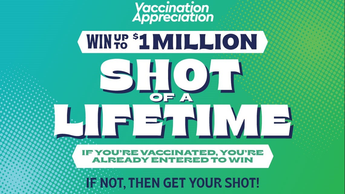 'I got lucky': Winner of first $250,000 in Washington's vaccine lottery claims prize - KING5.com