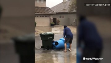 Stop those trashcans!