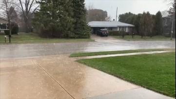Ferocious hail hits Wisconsin