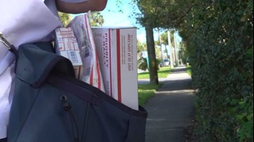 Delivering messages of gratitude to postal workers