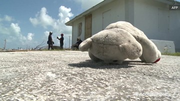 Search for those missing continues in the Bahamas