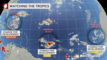 Tropical threat emerging in the Atlantic