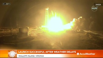 NASA launch successful after 2 weather delays