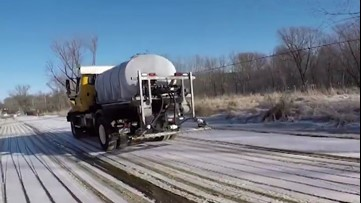 Rock salt vs. brine: Which is better for pre-treating roads?