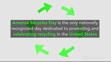 America Recycles Day encourages millions to recycle all year round