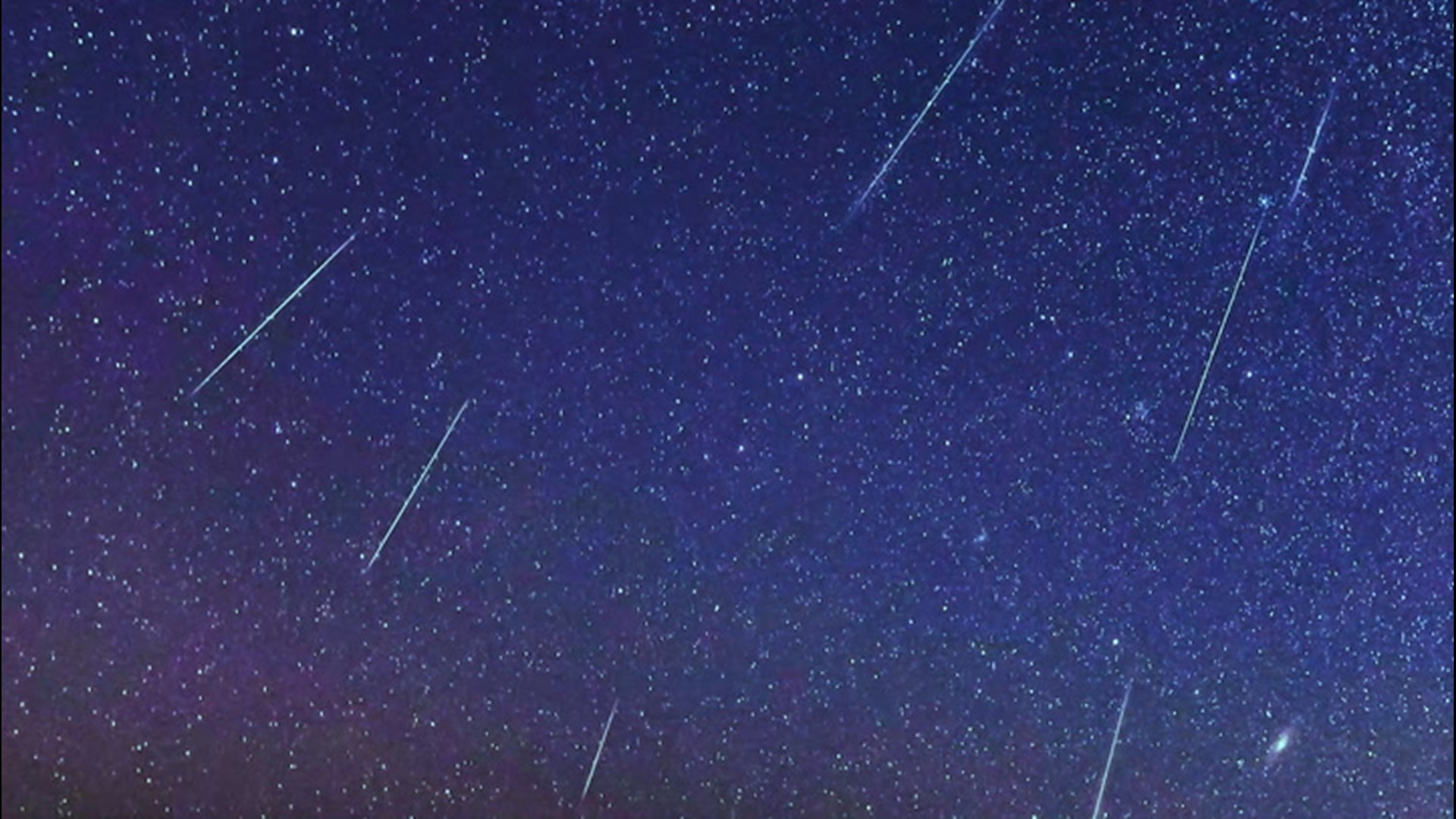 Shooting Stars To Streak Across The Sky Next Week During The Leonid Meteor Shower King5 Com