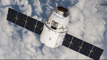 Is SpaceX's Dragon Capsule Contaminating the ISS?