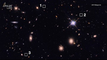39 Massive Galaxies From the Early Universe Discovered