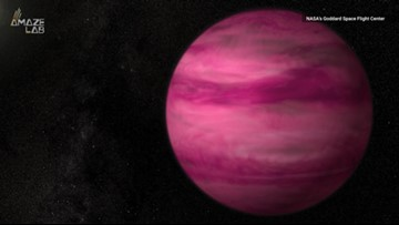 This Planet is So Hot, It's Bright Magenta Pink