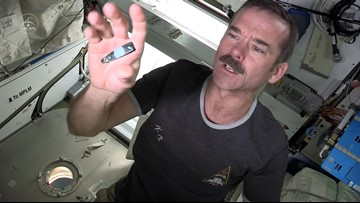 Here's How Astronauts Clip Their Nails in Zero-G
