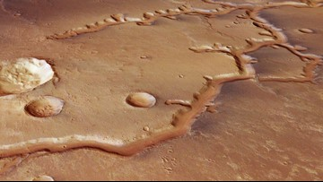 Ancient River System on Mars Captured in New Hi-Res Images