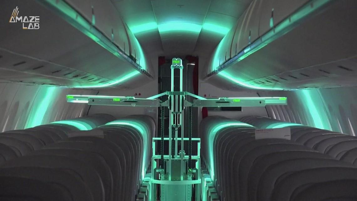 Robot Using Virus-Killing UV Light is Being Tested on ...