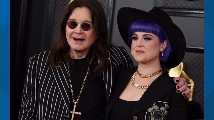 Ozzy Osbourne Kelly Osbourne 62nd Annual Grammy Awards - Arrivals