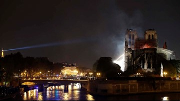 Notre Dame fire: French president vows to rebuild, seeks international help