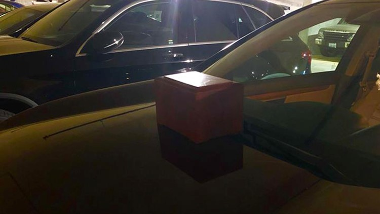 Mysterious box of ashes left on Bellevue woman's car
