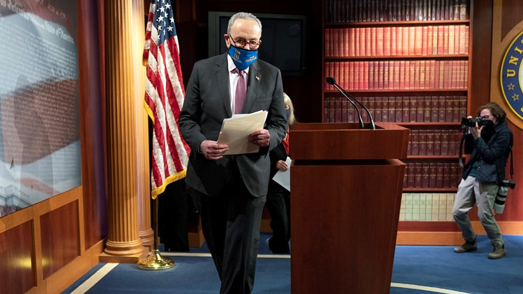 Senate begins considering Democrats' $1.9T virus relief bill