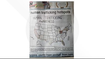 VERIFY: Does this map pinpoint human trafficking hotspots?