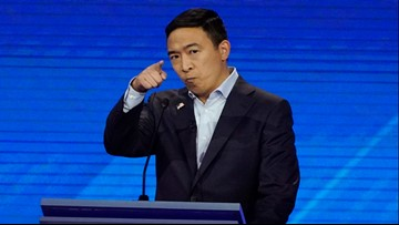 Democratic debate: Andrew Yang announces plan to give away $1,000 a month to 10 families over the next year