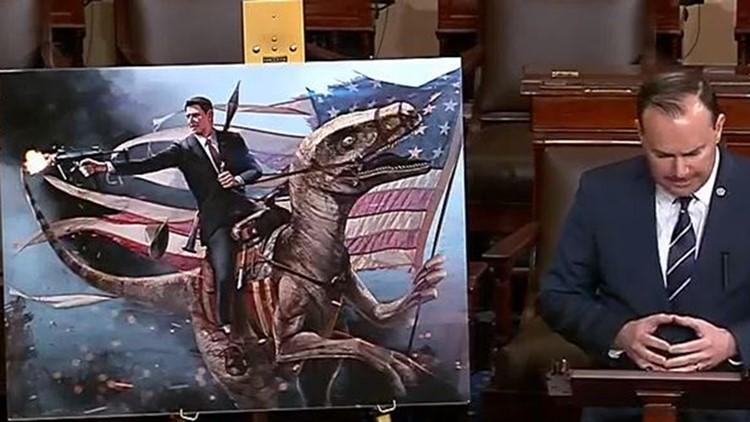 Mike Lee Reagan Velociraptor