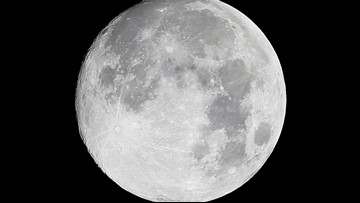 Rare Friday the 13th full moon to appear tonight