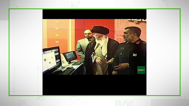 Fake photo of Ayatollah Khameini