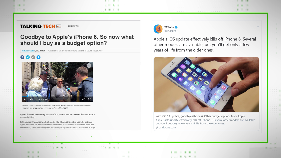 VERIFY: What the new Apple iOS update will do to not-so-new iPhones