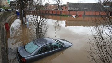 Storm Dennis punishes UK, northern Europe with damaging winds and flooding rain