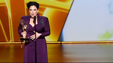 Alex Borstein pays tribute to strong women in Emmys acceptance speech: 'Step out of line ladies'