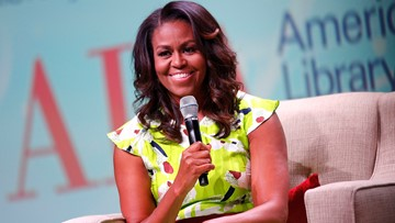 Michelle Obama is most admired woman in America, poll finds