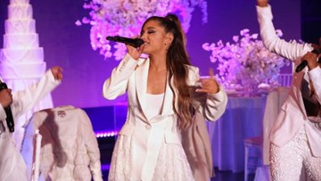Ariana Grande trips during 'Ellen' performance, drops 'Breathin' video