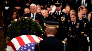 'Thank you for sharing this special man': Pence offers condolences to Bush family