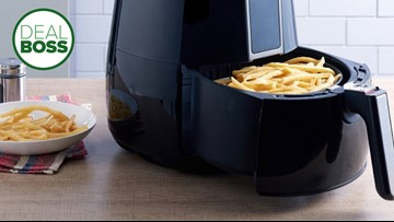 An air fryer is on sale for $69 at Walmart in a top trending deal today