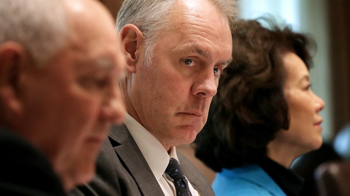 Interior Secretary Ryan Zinke will resign at end of year, citing 'vicious' attacks