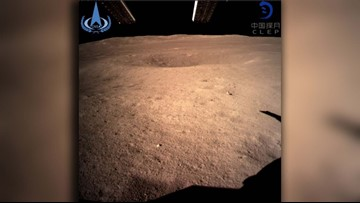 Lunar first: China lands spacecraft on far side of moon