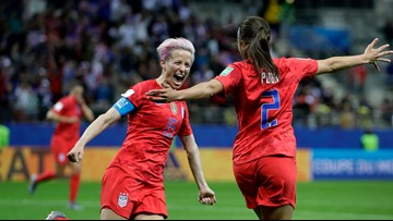 Trump takes to Twitter after US soccer star Megan Rapinoe refuses to visit White House