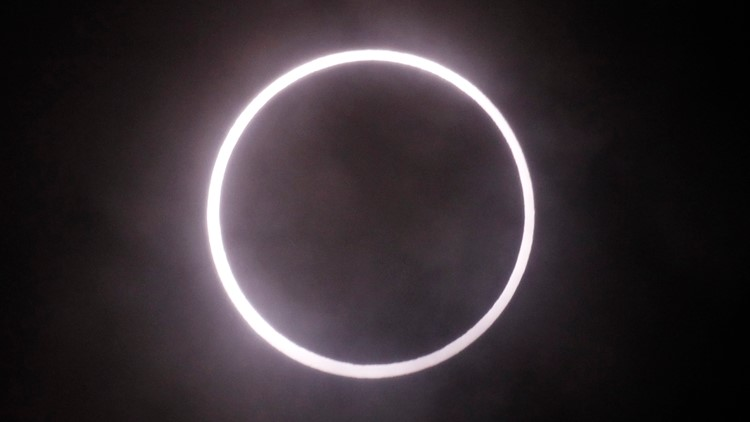 Japan Ring of Fire Eclipse 2012 AP