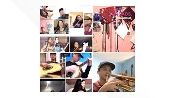 VIDEO: Fifteen high schoolers make mariachi magic in virtual rehearsal