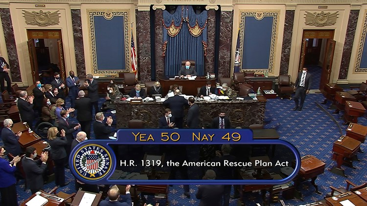 Senate passes $1.9T COVID-19 relief bill, including $1,400 stimulus checks