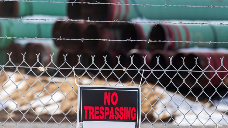 Keystone pipeline canceled after Biden had blocked permit