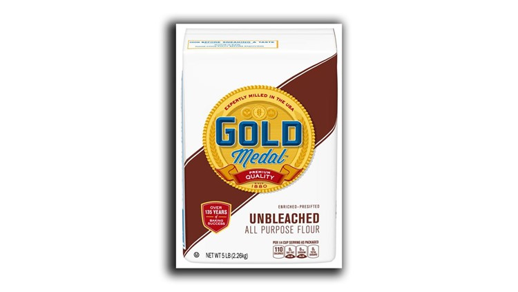 Gold Medal Unbleached Flour recall