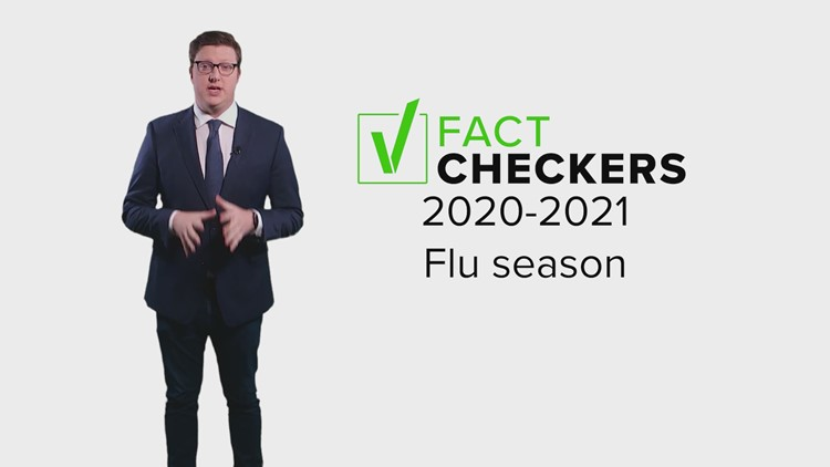 VERIFY: Yes, flu cases are low this year but that doesn't mean there's anything suspicious going on