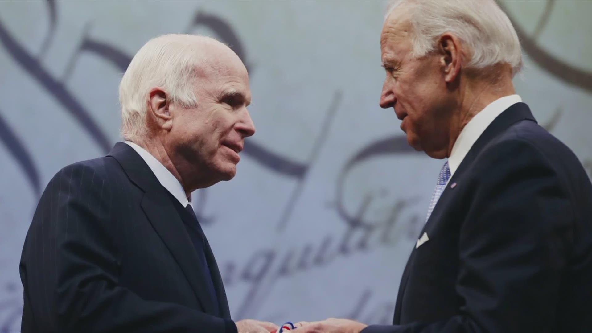 Cindy Mccain Video About Joe Biden John Mccain To Air At Dnc King5 Com