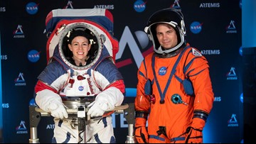 Take a look at the spacesuits astronauts will wear on the moon