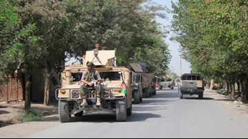 Taliban launch major attack on one of Afghanistan's main cities