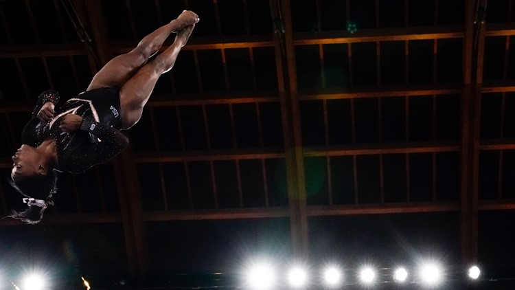 Simone Biles shows off vault no female gymnast has done in Olympic competition