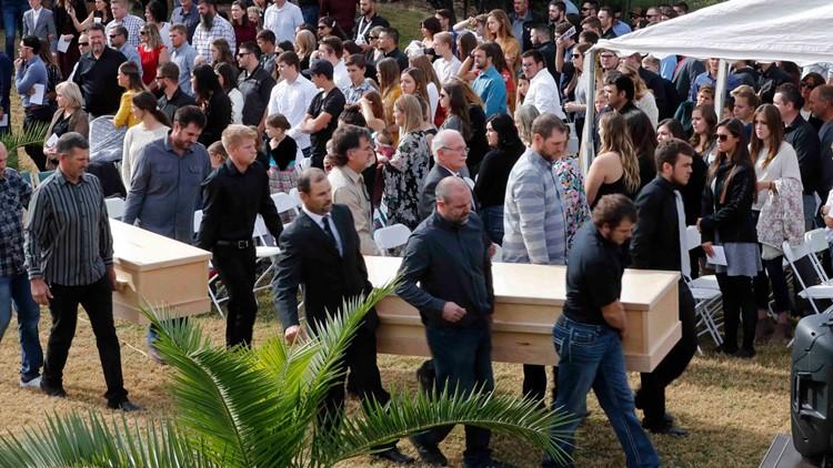 Mexico Border Killings first funerals November 7 2019