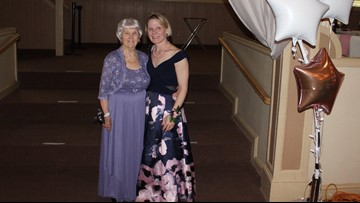 97-year-old attends first prom, wins prom queen