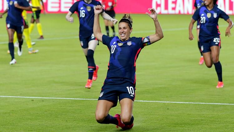 Megan Rapinoe, Rose Lavelle make USWNT soccer roster for Tokyo Olympics