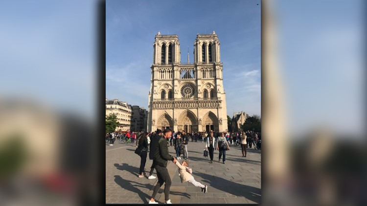 Brooke Windsor Notre Dame Father Daughter photo