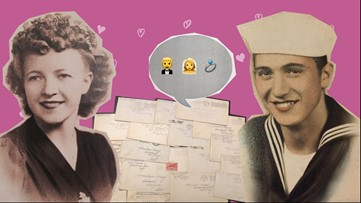 A love story in time capsule: How WWII love letters brought strangers together